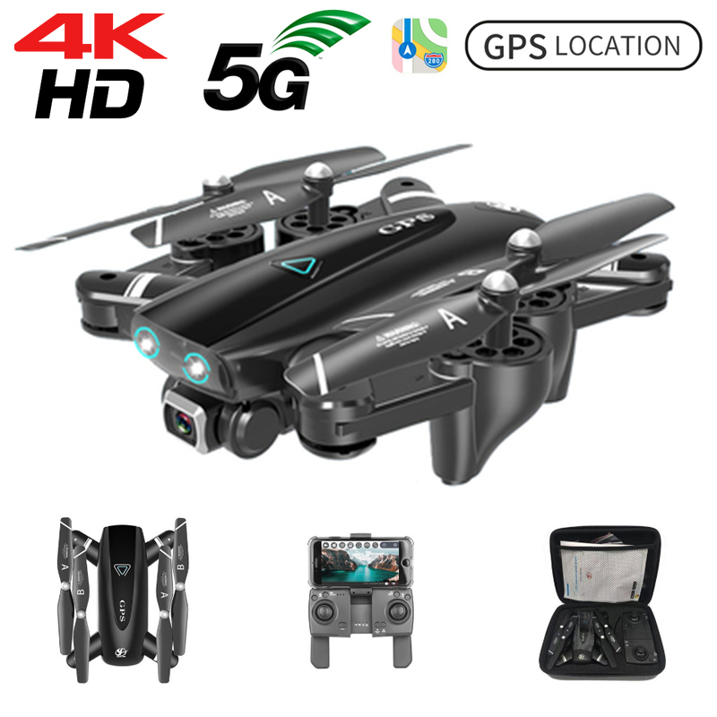 S167 GPS <font><b>Drone</b></font> 4k HD Camera <font><b>Drones</b></font> <font><b>5G</b></font> GPS WiFi FPV 1080P RC Helicopter Flight 20 Minutes Quadcopter Foldable <font><b>Drone</b></font> with Camera image