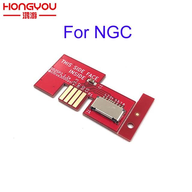 עבור NGC משחק קוביית SD2SP2 SDLoad SDL מיקרו SD כרטיס TF כרטיס קורא