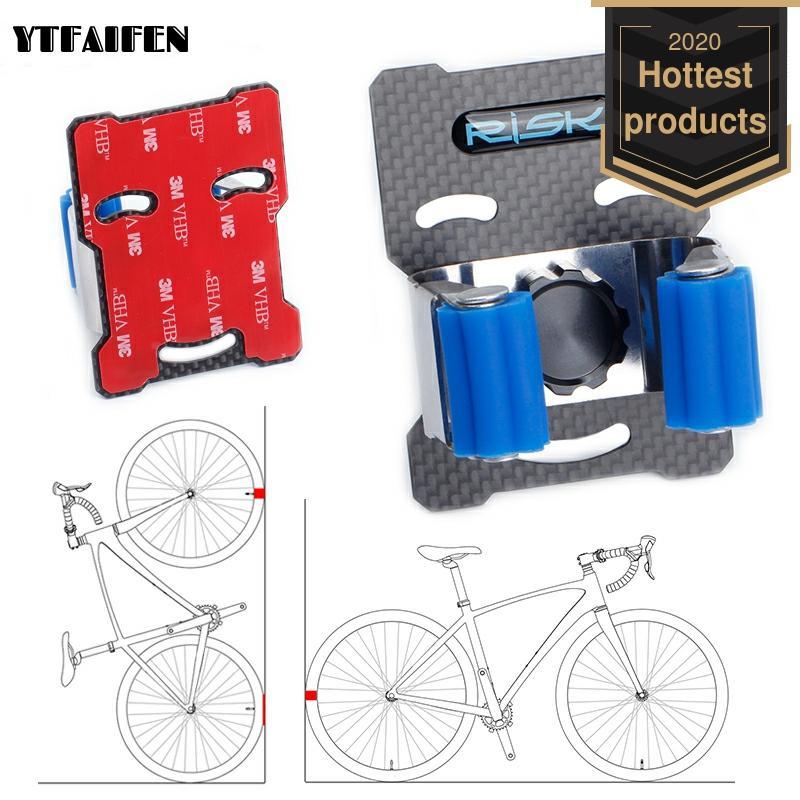 Держатель для велосипедного настенного крючка, практичная подставка для горного велосипеда с пряжкой для парковки, портативная настенная ...