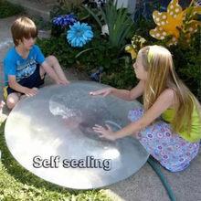 Wubble bubble ball creative TPR children's toy elastic ball transparent fill balloon fill bubble ball ball for kids big