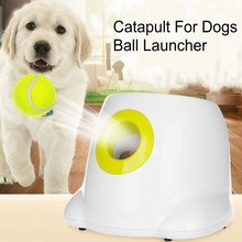 3/6/9m Catapult For Dogs Ball Launcher Dog Toy Tennis Ball Launcher Jumping Ball Automatic Throwing Machine Pet Reward Machine