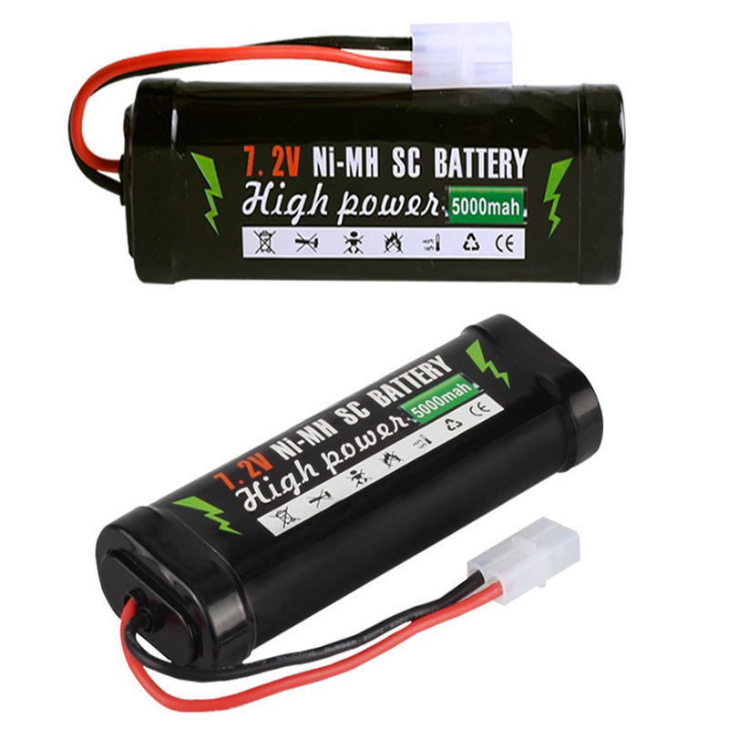 <font><b>Ni</b></font>-<font><b>mh</b></font> SC <font><b>7.2V</b></font> rechargeable <font><b>battery</b></font> remote control vehicle remote control ship tank 5000mAh large capacity <font><b>battery</b></font> image