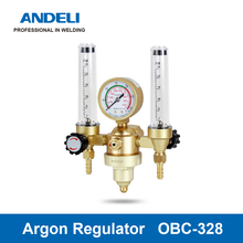 ANDELI Welding Gas Meter OBC-328 Argon Pressure Flow Regulator for TIG Welding machine Argon pressure reducer tanie tanio