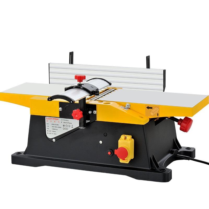 Rabot à bois multifonctionnel rabot à bois rabot à bois outil électrique domestique petite raboteuse