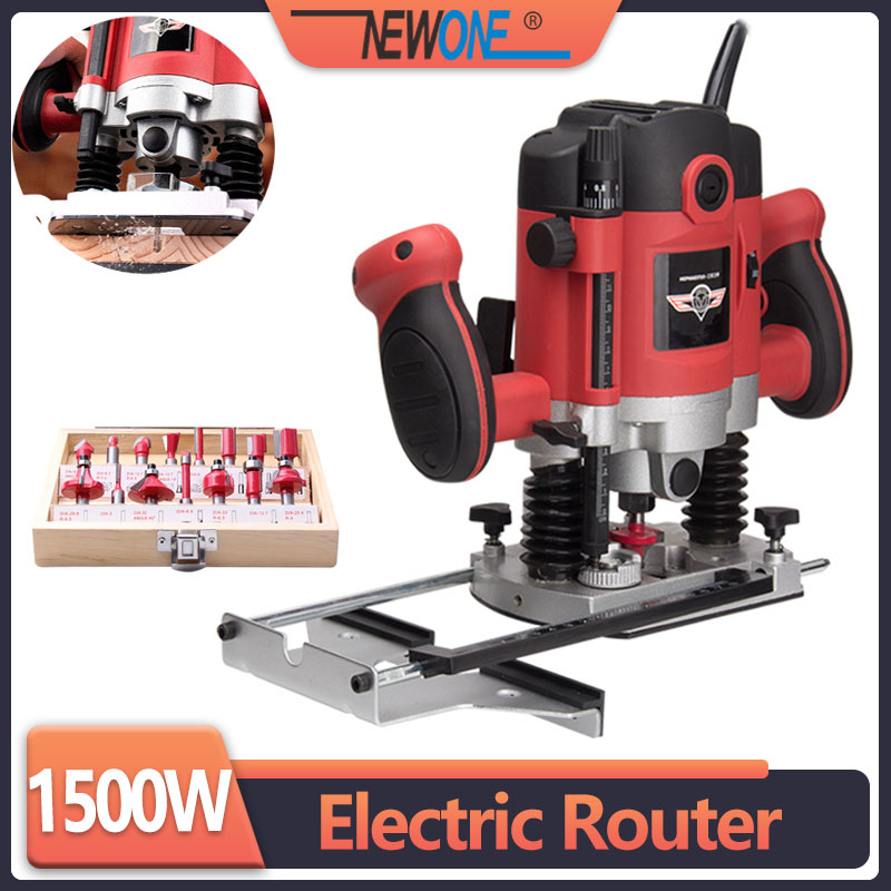1050W 1500W 2100W power electric router for woodwork with european plugs woodworking trimmer tool