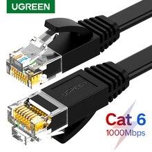 Ugreen Cable Ethernet Cat6 Lan Cable UTP CAT 6 Cable de red RJ 45 10m/50m/100m Cable de conexión para ordenador portátil Router RJ45 Cable de red