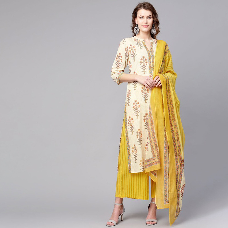 Long Kurti Dresses For Women Female Kurta Tradicional India Pakistani Dress Vestido Indiano Roupa Indiana Robe Indienne