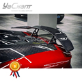 Car-Styling Carbon Fiber Rear Spoiler Fit For 2011-2017 Aventador All Models MS Style Trunk GT Wing