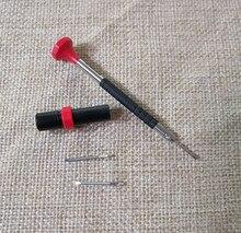 Bergeon 6899 swiss fez micro cabeça plana chave de fenda em milímetros tipo chave de fenda para reparar o relógio tem duas ferramentas bit