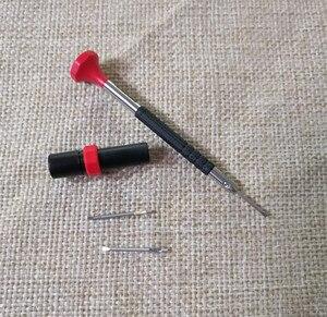 Image 1 - Bergeon destornillador de cabeza plana para reparar el reloj, destornillador pequeño de cabeza plana de 6899 hecho en Suiza, con ranura de milímetro, dos herramientas