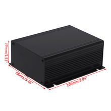 DIY Aluminum Case Electronic Project PCB Instrument Box 100x88x39mm Drop Ship Support
