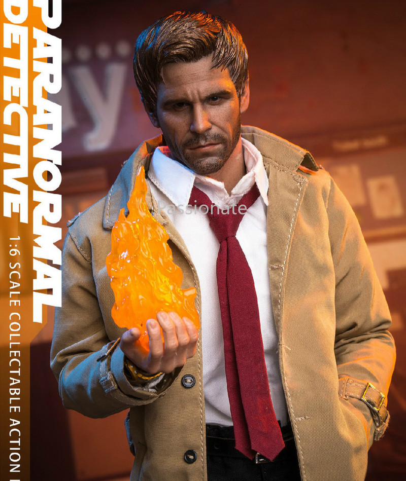 40cm Soosootoys 1/6 Ghost Detective Constantine Collection Action Figure For Fans Holidays Gift