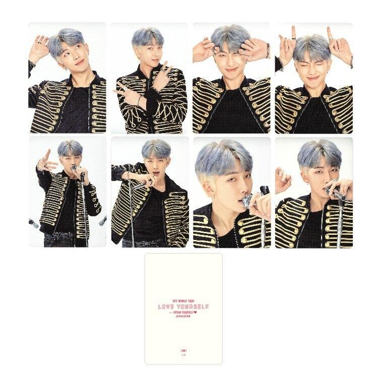 Kpop Bangtan Boys альбом LOVE YOURSELF Япония случайный альбом карта периферия - Цвет: RM