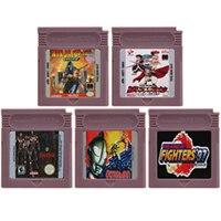 16 بت لعبة فيديو خرطوشة بطاقة وحدة التحكم لنينتندو GBC القتال النوع لعبة سلسلة اللغة الإنجليزية الطبعة