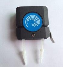 Minipompa perystaltyczna głowica z rurką mały silnik krokowy