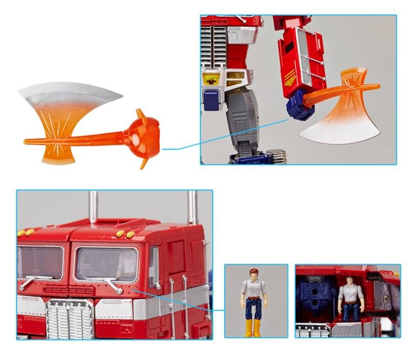 figura de ação robô caminhão reboque do