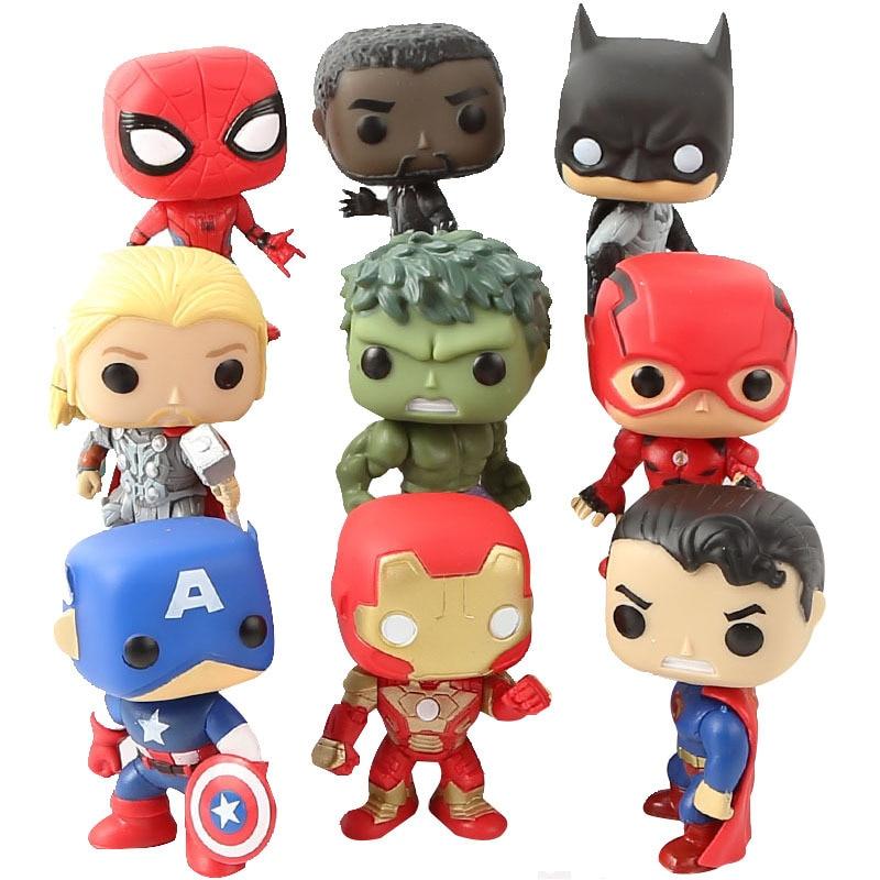 9-pcs-lot-pop-figure-font-b-marvel-b-font-avengers-pop-batman-spiderman-ironman-model-toy-figure-doll-collection-model-toys-kids-birthday-gift