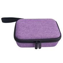 Bolsa de armazenamento com alça, bolsa de armazenamento com zíper, estojo de transporte, à prova d água, bolsa de eva portátil para kidizoom câmera pix