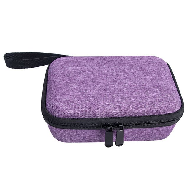 Storage Bag With Strap Zipper Closure Waterproof Carrying Case Travel Protective Portable Pouch Hard EVA For Kidizoom Camera Pix