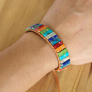 Bracelet 7 Chakras Vraies Pierres 3