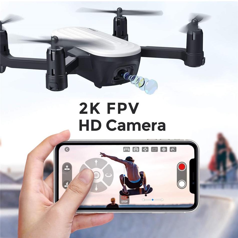 Potensic P6 WIFI FPV Foldable Drone WIth 2K Camera Mini RC Quadcopter