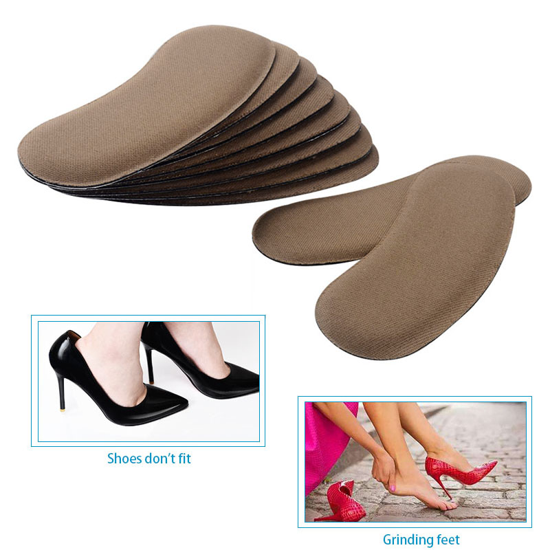 5Pair High Quality Sponge Invisible Back Heel Pads For High Heel Shoes Grip Adhe