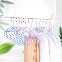 Buy 10/20PCS Clothes Hangers Underwear Laundry Storage Organization Drying Racks With Grooved Slip-Resistant Multicolour Hanger directly from merchant!