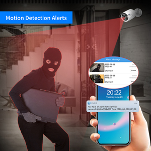 Image 4 - Hiseeu H.265 8CH 5MP POE אבטחת מצלמה מערכת ערכת AI פנים זיהוי אודיו שיא IP מצלמה IR CCTV וידאו מעקב NVR סט