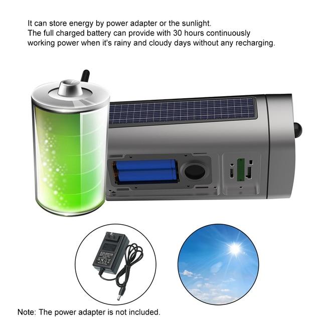 Wireless HD 1080P WiFi IPCamera Solar&Battery Power Bullet  PIR Motion Detection Waterproof Thunderproof Outdoor Security Camera 2