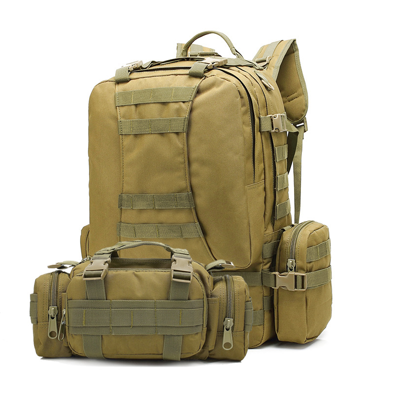 Supply Multi-functional Outdoor Combination Backpack Outdoor Camouflage Waterproof Tactical Backpack Large Capacity Mountain Cli