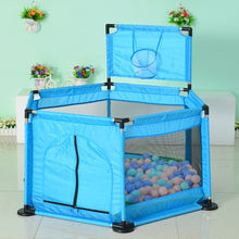 Детский забор для игры в морской шар детей ясельного возраста