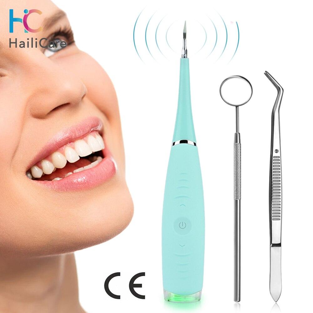 Ultrasonic Dental Tartar Remover Teeth Stain Eraser Tooth Calculus Remover Usb Charging Dentist Tartar Scraper Ora Care Cleaning
