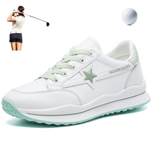 Sneakers Golf-Shoes Walking-Athletics Breathable Women Ladies for Girls Non-Slip Mesh