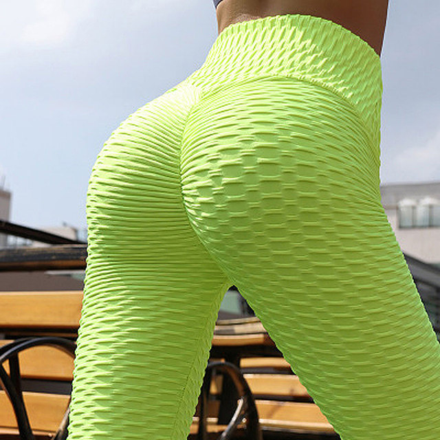 Scrunch Back Winter Fitness Leggings Hips Up Booty Workout Pants Womens Gym Activewear For Fitness High Waist Long Pant Warm 2