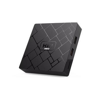 New, Hk1 Mini Smart Tv Box Android 9.0 2Gb+16Gb Rk3229 Quad-Core Wifi 2.4G 4K 3D Hk1 Mini Google Netflix Set-Top Box(Eu Plug)