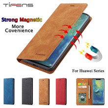Flip Wallet Case For Huawei P40 P30 P20 Mate20 Pro Lite P Smart Plus 2019 Luxury Leather Magnetic Card Holder Honor 10lite Cover
