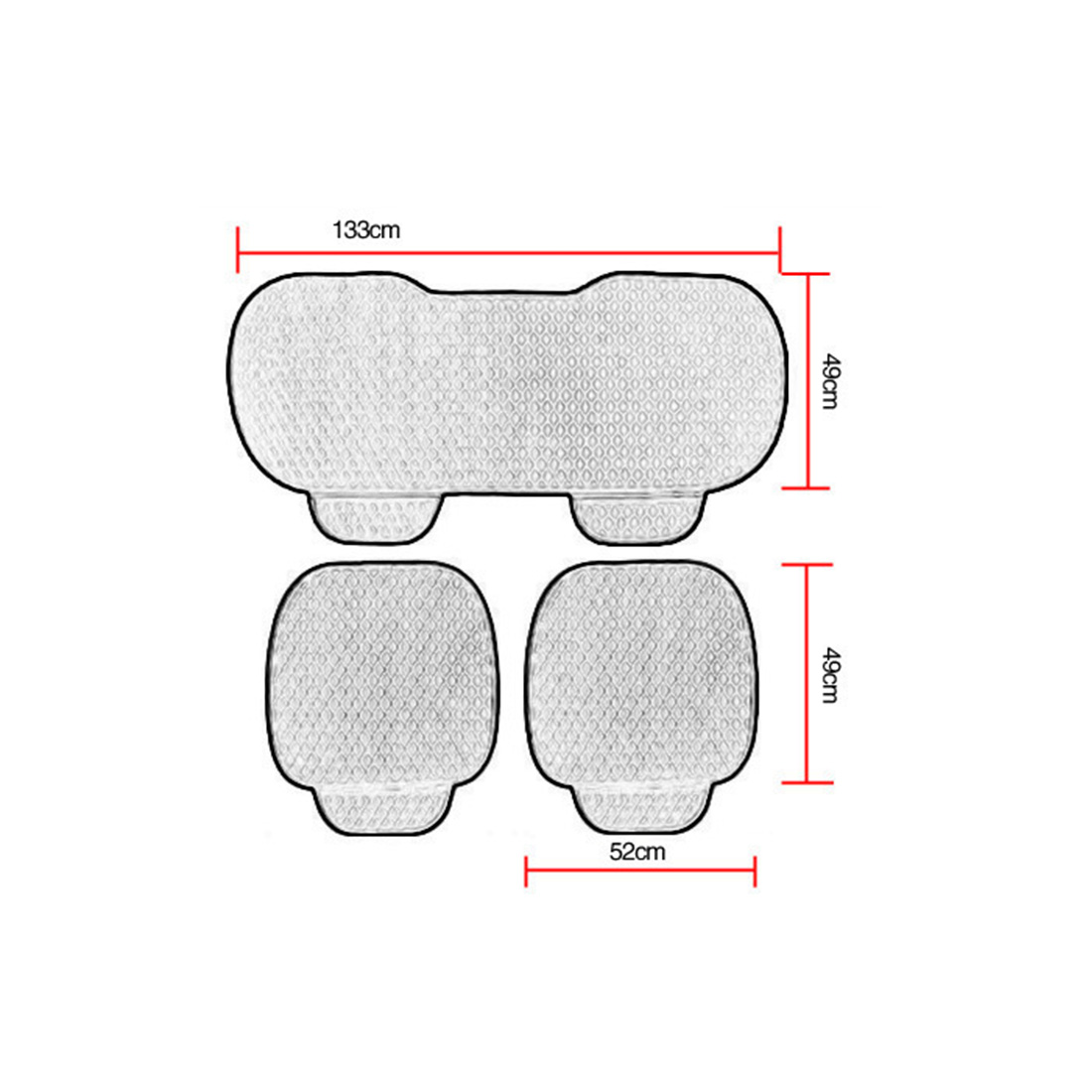 Image 5 - Car Front Rear Universal Seat Cover Winter Warm Black Seat Cushion Anti Slip Rear Back Chair Seat Pad For Vehicle Auto Protector-in Automobiles Seat Covers from Automobiles & Motorcycles