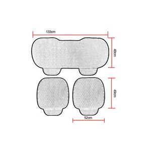Image 5 - Housse de siège universelle avant de voiture hiver coussin de siège noir chaud anti dérapant arrière chaise de siège pour véhicule Auto protecteur