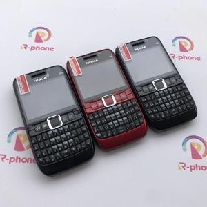 Image 2 - 100% الأصلي نوكيا E63 3G مقفلة الهاتف المحمول واي فاي بلوتوث لوحة المفاتيح QWERTY الهاتف المحمول ولوحة المفاتيح العربية الروسية