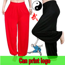 chinese Kung Fu training pants Martial arts pants tai chi pants loose bloomers yoga pants man Wing chun pants costume female