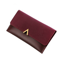 2019 Leather Women Wallets Hasp Lady Moneybags Zipper Coin Purse Woman Envelope Wallet Money Cards ID Holder Bags Purses Pocket цена в Москве и Питере