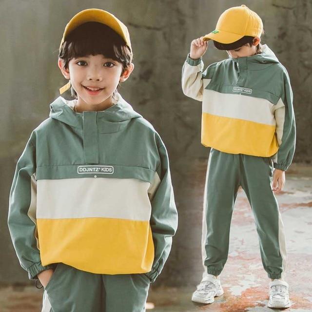 Pakaian Set Hoodie + Celana Laki Laki 3