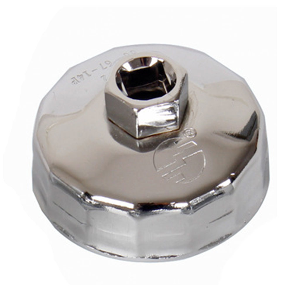 74mm Durable Socket Rustproof Cap Car Wrench Remover Oil Filter Repair Accessories Tool Steel For Kia K2 K3