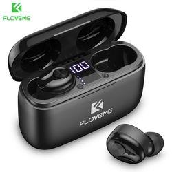FLOVEME Bluetooth écouteur TWS sans fil écouteur casque pour Xiaomi Huawei HIFI sport course casque Support téléphones HD appel