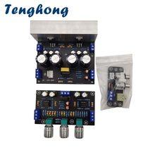 Tenghong 1875 placa amplificador de potência 30w * 2 2.0 amplificador estéreo casa som teatro com ne5532 tone board preamp diy placas de áudio