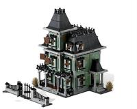 the haunted house Monsters Warrior series fighter vampires ghost figures genuine building block toys for kids gifts