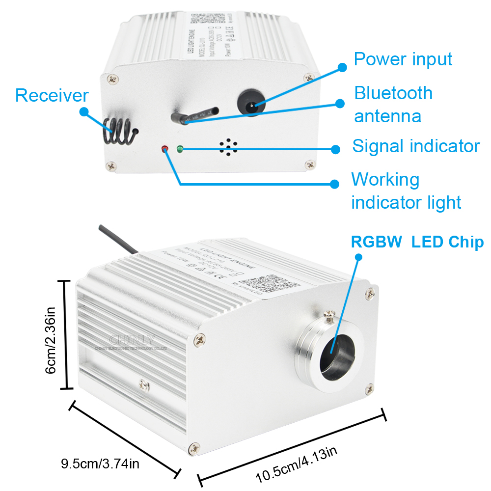 Cheap Luzes de fibra óptica