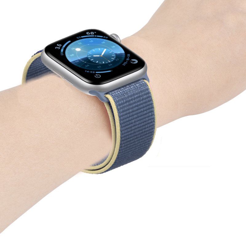 Strap For Apple Watch Band 5 4 44mm 40mm Sport Loop Correa 42mm 38mm Iwatch Series 3 2 Watchband Bracelet Breathable Accessories