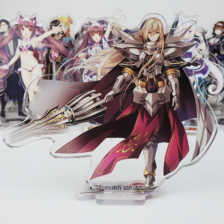 The Legend Of Heroes: Trails Of Cold Steel IV A Ryan Hede About Repair Cosplay Stand Figure Model Acrylic Desk Decor Gift