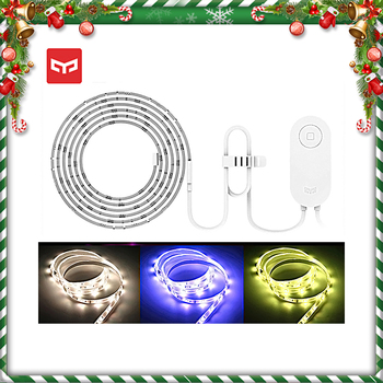 Original Yeelight Light Strip Holiday Christmas Decor RGB LED 2M Smart Home Mihome WiFi Compatible Alexa Google